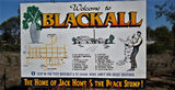 Picture relating to Blackall - titled 'Blackall information sign'