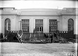 Picture relating to Parliament House - titled 'Old Parliament House main entrance - Steps being concreted'