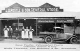 Picture relating to Eagle Junction - titled 'Eagle Junction store of J.D.Postle'