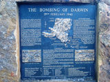 Picture relating to Darwin - titled 'Memorial of Japanese Air Raids of Darwin 1942'