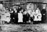 Picture relating to Blackwater - titled 'Blackwater school, Queensland'