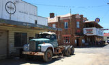 Picture of / about 'Emmaville' New South Wales - Tattersalls Hotel and old Mack truck, Emmaville