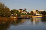 Picture relating to Mandurah - titled 'Canal-side residences, Dudley Park, Mandurah WA'