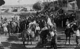 Picture of / about 'Winton' Queensland - Race day in Winton, ca. 1912