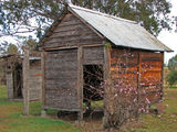 Picture relating to Boondooma Historic - titled 'The Cool Shed at Boondooma Homestead complex'