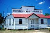 Picture relating to Herberton - titled 'Great Nothern Mining Corporation building at Herberton, 1986'
