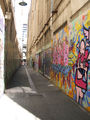 Picture relating to Melbourne - titled 'Graffiti Alley.Melbourne CBD'