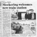 Picture relating to Meckering - titled 'Meckering News '