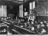 Picture of / about 'Mount Beppo' Queensland - School teaching, Mount Beppo, Queensland, 1910