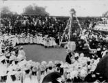 Picture relating to Brisbane - titled 'Laying the foundation stone at St John's Cathedral, Brisbane, Queensland, 1901'