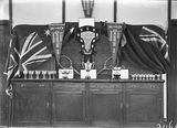 Picture relating to Canberra - titled 'Canberra Tennis Association trophies for 1926'