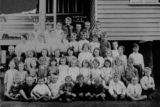 Picture relating to Eidsvold - titled 'First class at Eidsvold State School, 1922'