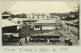 Picture relating to Townsville - titled 'Corner of Flinders and Stokes Streets, Townsville, 1926'