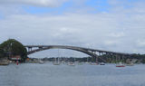 Picture relating to Parramatta River - titled 'Gladesville Bridge,Parramatta River'