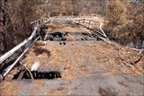 Picture of / about 'Cotter River' the Australian Capital Territory - Cotter River Bridge after the 2003 fire.