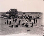 Picture relating to Acton - titled 'Crowd at school sports day, Acton.'