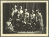 Picture relating to Gympie - titled 'Black and White Costume Company in Gympie, 1917'