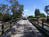 Picture relating to Koondrook State Forest - titled 'Bridge to Gunbower Island,over gunbower creek'