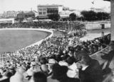 Picture relating to Woolloongabba - titled 'International cricket match at the 'Gabba, 1931'