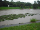 Picture relating to Grange - titled 'Grange Kedron Brook flooding in Jan 2011'