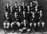 Picture relating to Mackay - titled 'Federal Junior Rugby Union team, Mackay, 1924'