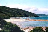 Picture relating to Blanket Bay - titled 'Blanket Bay;  Otway National Park'
