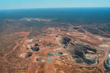 Picture relating to Gidgee Mine - titled 'Gidgee Mine - aerial view 5'