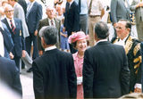 Picture relating to Chichester Range - titled 'Queen Elizabeth visits Brisbane for 1982 Commonwealth Games'