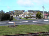 Picture of / about 'Somerset' Tasmania - Somerset (rail,Bass Hwy and Athol St looking south