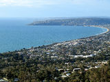 Picture relating to Dromana - titled 'Dromana from Arthurs Seat'
