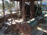 Picture relating to Norseman - titled 'Norseman gold mine steam winch (view 3 of 3)'