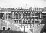 Picture relating to Parliament House - titled 'Old Parliament House rear stairway under construction'