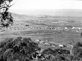 Picture relating to Red Hill - titled 'View from Red Hill over Collins Park, Manuka and Kingston to Duntroon.'