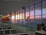 Picture relating to Adelaide Airport - titled 'Sunset at Adelaide Airport'