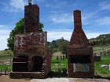 Picture relating to Rock Valley - titled 'Rock Valley Homestead Chimneys'
