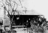 Picture relating to Stanthorpe - titled 'First home of the Elleysen family, Stanthorpe, ca. 1895'