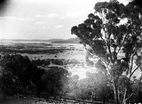 Picture relating to Red Hill - titled 'View from Red Hill, looking north.'