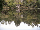 Picture relating to Pieman River - titled 'Pieman River Reflections'