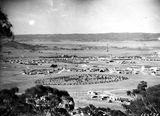 Picture relating to Red Hill - titled 'View from Red Hill over Manuka and Kingston from Red Hill, Collins Park in foreground.'