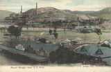 Picture relating to Mount Morgan - titled 'View of the town of Mount Morgan and the mine beyond'