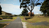 Picture relating to Wonthaggi - titled 'Wonthaggi Railway Station in the park October 2017'
