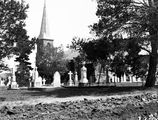 Picture relating to Reid - titled 'St John's Church, Constitution Avenue, Reid, from Anzac Parade.'
