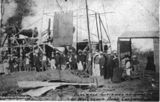 Picture of / about 'Blackall' Queensland - Christening of the Blackall Woolscour bore, Queensland, 1906