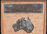 Picture relating to Broken Hill - titled 'Broken Hill Standard gauge lines memorial'