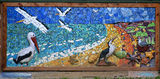 Picture relating to Point Cook - titled 'Point Cook Coastal Park mural'