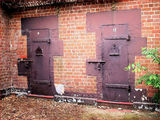 Picture relating to Gunning - titled 'Old Gaol Cells - Gunning NSW'