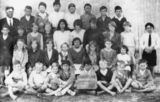 Picture relating to Broadwater - titled 'Broadwater State School class of 1934'