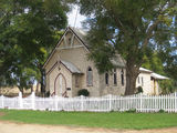 Picture relating to Wooroolin - titled 'Wooroolin - old Presbyterian Church'