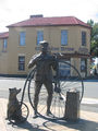Statue of 'The Time Traveller' Evandale