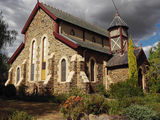 Picture relating to Gulgong - titled 'Gorgeously maintained church'
